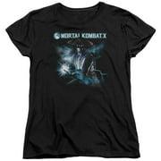 Mortal Kombat X Raiden Womens Short Sleeve Shirt