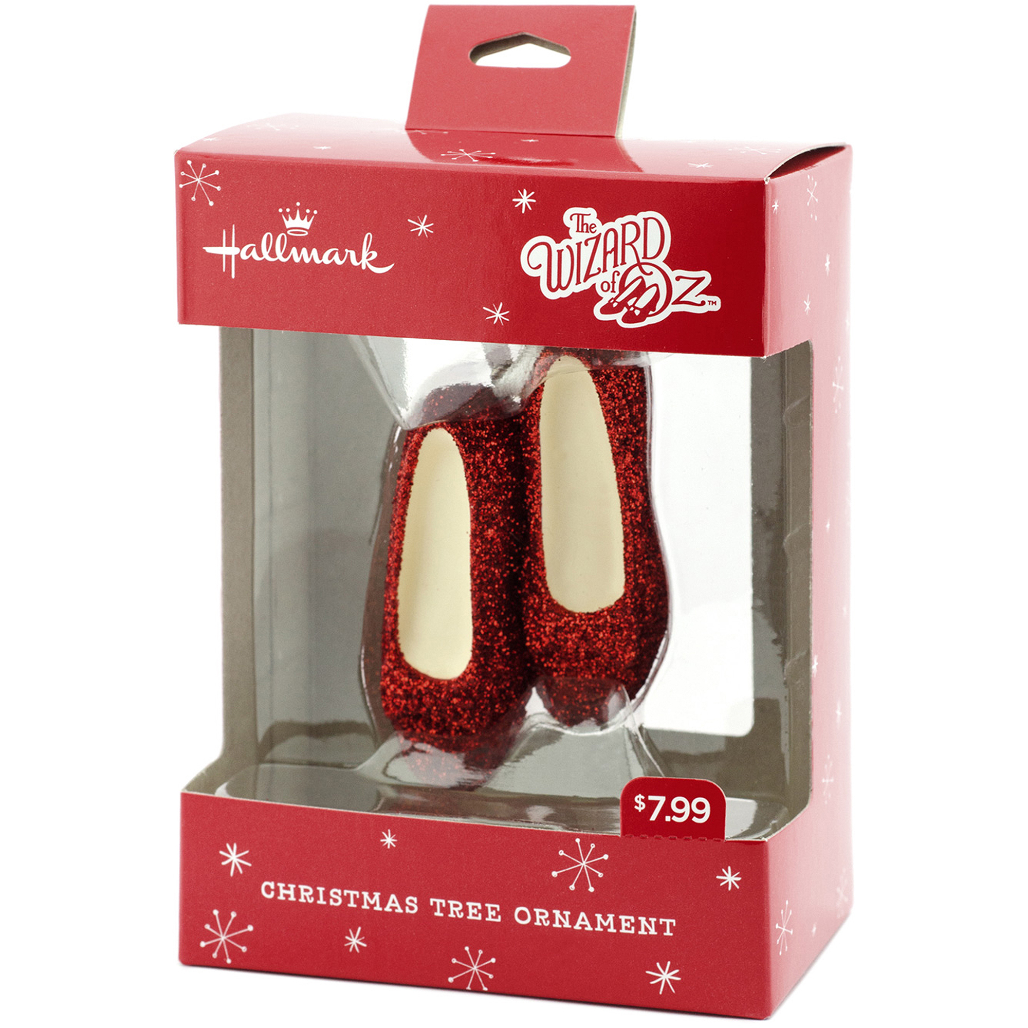 hallmark wizard of oz ruby slippers christmas ornament walmartcom