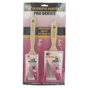 Plymouth Painter PPB16004 Pro Series Paint Brush Set