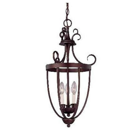 Savoy House Entry Lantern Foyer 3 Light in English Bronze
