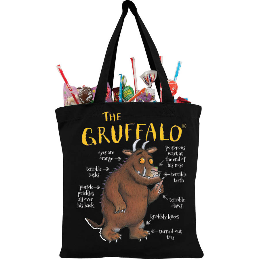 Personalized The Gruffalo Black Trick-or-Treat Bag