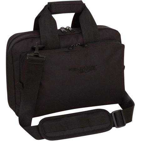 Fieldline Pro Series Shooters Bag, Pistol Case Black