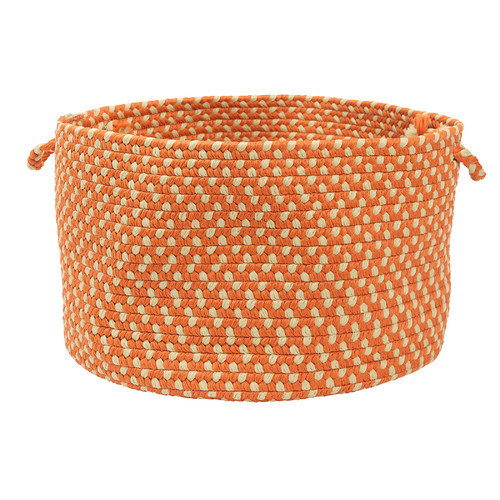 Colonial Mills Montego Tangerine Utility Basket