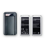Best Battery For Galaxy S5s - Galaxy S5 Battery Combo, CyberTech 2X (QTY:2) High Review