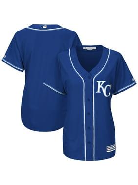 Kansas City Royals Majestic Women's Cool Base Jersey - Royal