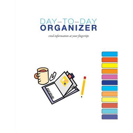 Vital Information (Day-To-Day Organizer : Vital Information at Your)