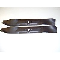 Set of 2, Made In USA Heavy Duty Replacement Blades For Cub Cadet 742-3033, 759-3830, 742-04101, 742-04081. .204 Thick H