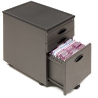 Offex Office File Storage Cabinet - Black