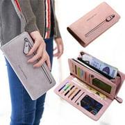 Best Ladies Wallets - Women Leather Zipper Purse Ladies Clutch Coin Wallet Review