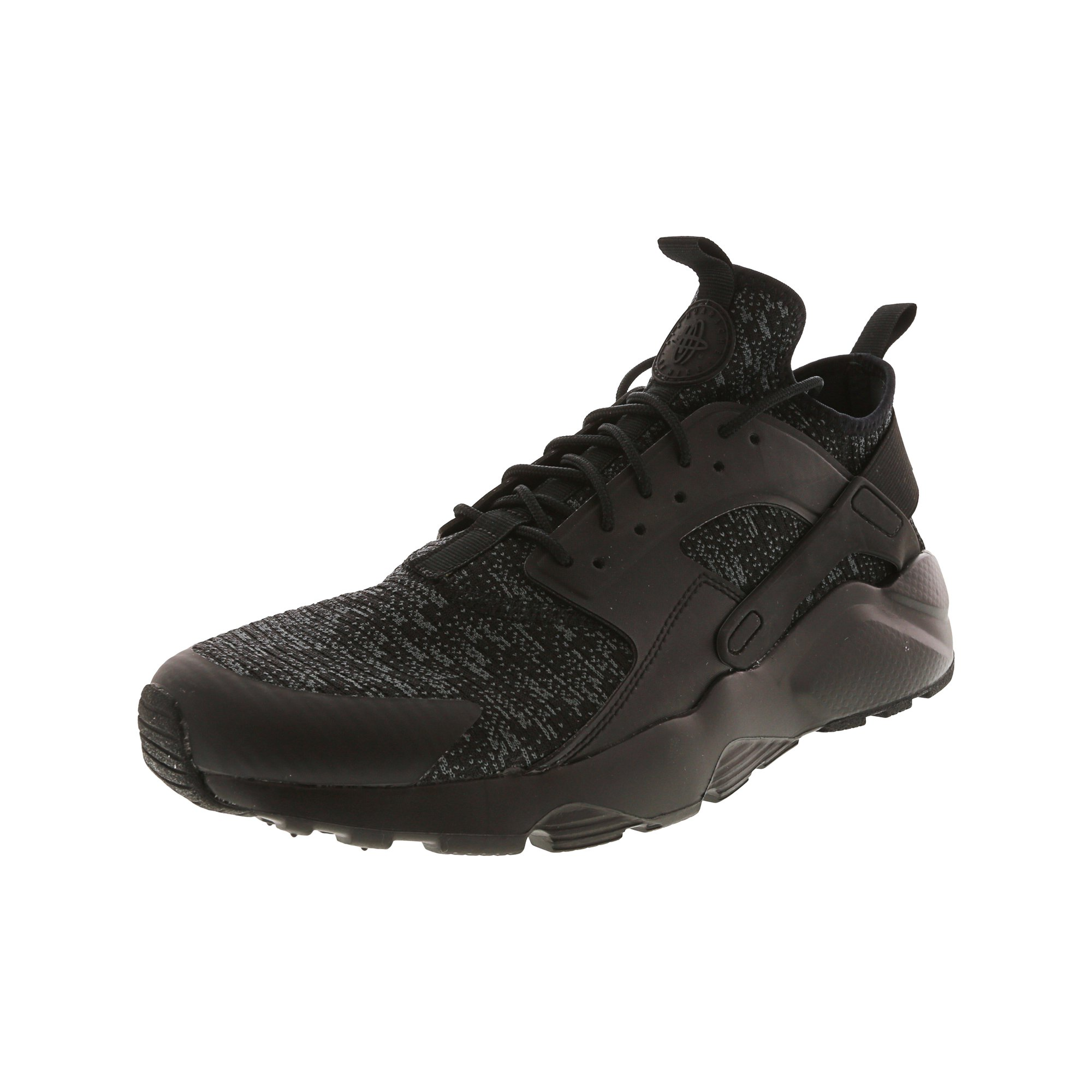 32e4501073f4 Nike Men s Air Huarache Run Ultra Se Black   - Dark Grey Ankle-High Fabric  Fashion Sneaker 11M