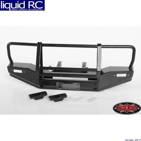 RC 4WD VVV-C0469 Metal Front Winch Bumper for Traxxas Trx-4 Land Rover Defender