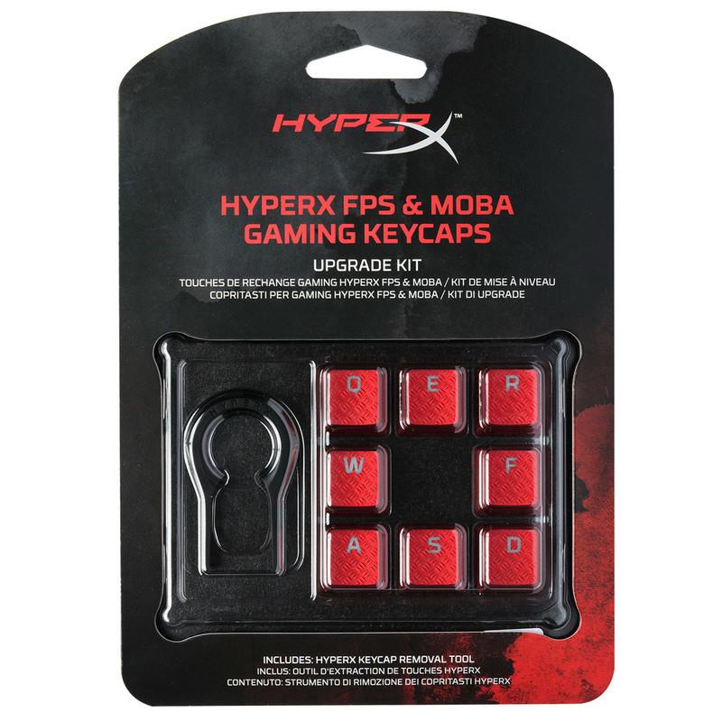 HyperX FPS & MOBA Gaming Keycaps Upgrade Kit (Red)