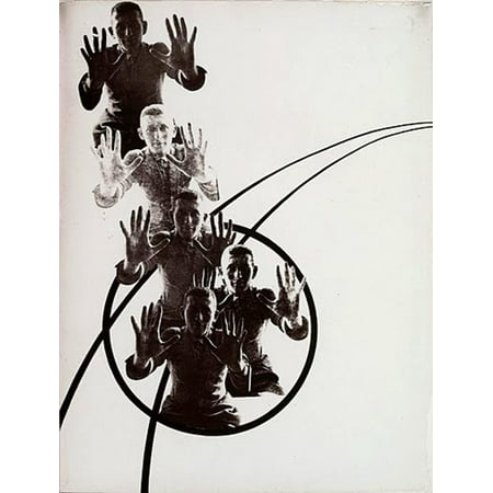 LAMINATED POSTER Laszlo Moholy Nagy The Law Of Series 1925 Print 24 x 36