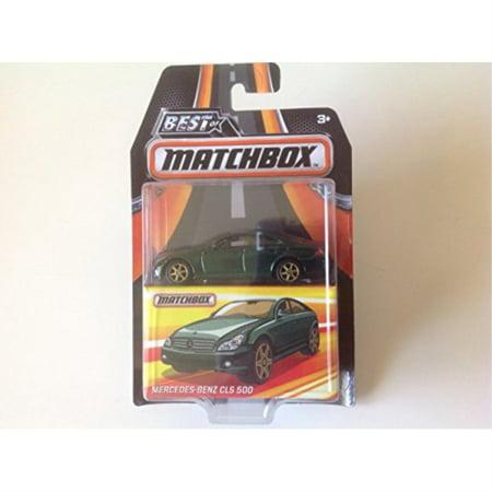 matchbox best of 2017 mercedes benz cls 500 green