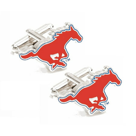 SMU Mustangs Team Logo Cufflinks - No Size