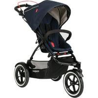 Phil & Teds Sport Inline Stroller, Midnight Blue