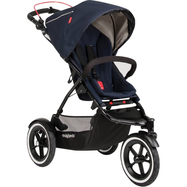 Phil & Ted's Sport Inline Stroller, Midnight Blue