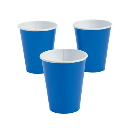 Cobalt Blue Paper Cups (Fiesta Cobalt Blue Cup)
