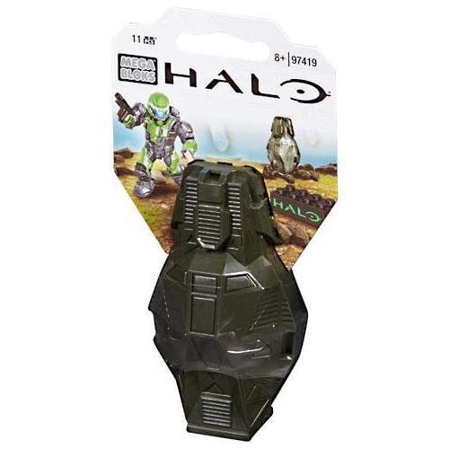 Mega Bloks Halo Metallic ODST Drop Pod Set #97419 [Green UNSC] by