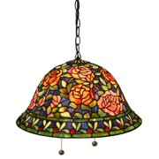 Southern Belle Rose Hanging Lamp