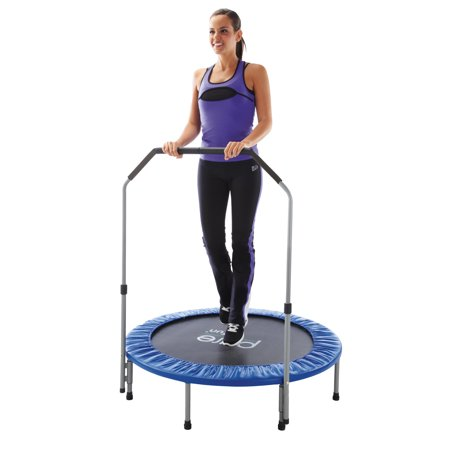 Pure Fun 40-Inch Exercise Trampoline, with Handrail, (Pure Fun 12 Foot Trampoline With Enclosure Set)