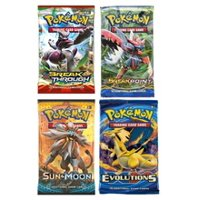 4X Pokemon Trading Cards Game Booster Pack (Cover Varies)