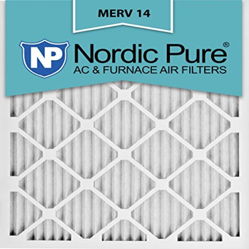 Nordic Pure 16x25x1M14-12 Pleated AC Furnace Air Filter, ...