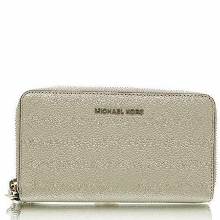 3e7cee9a7325 NWT Michael Kors Women's Mercer Large Flat Multi Function Phone Case Wallet  - Walmart.com