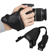 EEEkit Leather Hand Grip Strap, Camera Hand Grip Strap, Camera Wrist Strap,  DSLR Wrist Strap, Non-slip surface design, Adjustable