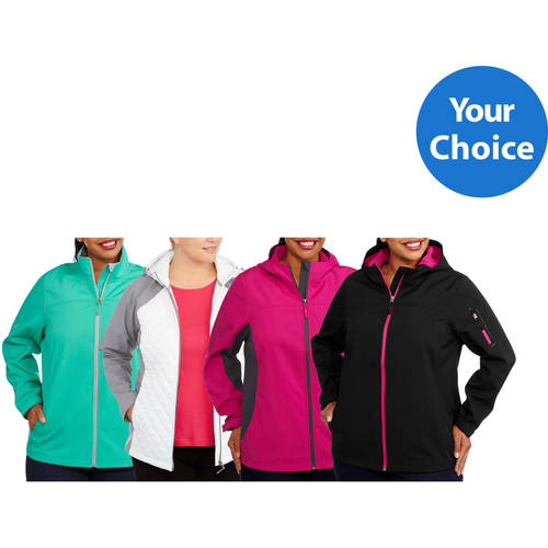Image of Free Tech Women;s Plus-Size Soft Shell Jacket Assortment, Your Choice