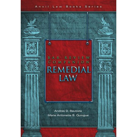Bar Review Companion: Remedial Law - eBook (Pieper Bar Review)