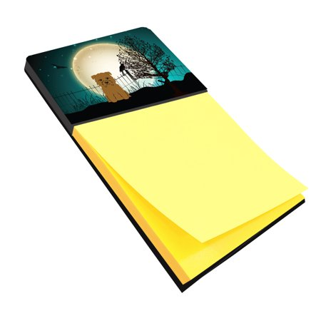 Halloween Scary Glen of Imal Tan Sticky Note Holder BB2250SN (Halloween Glen)