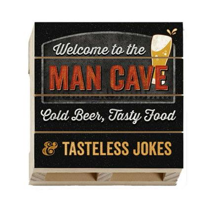 Highland Woodcrafters Man Cave Beer Wood Pallet Coaster](Diy Wood Coasters)