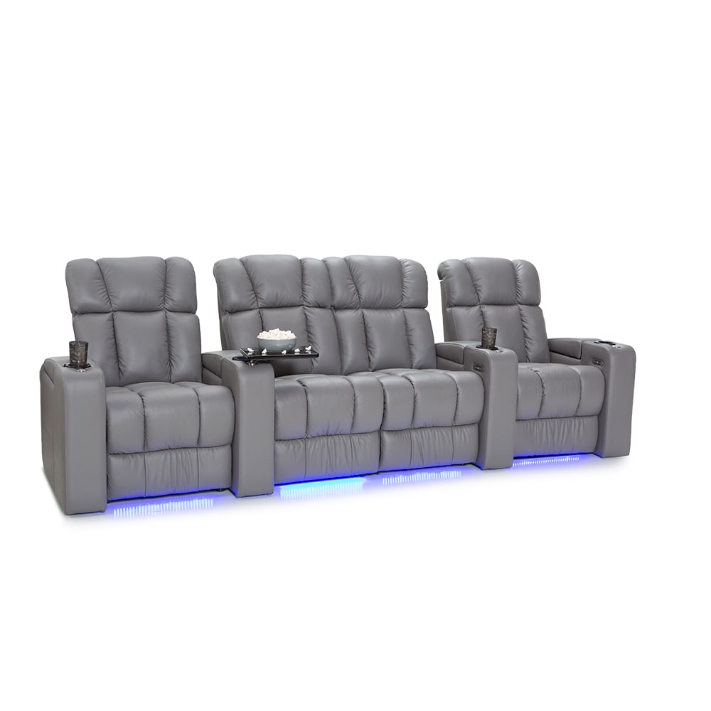 Palliser  Collingwood Leather Home Theater Seating Power ...
