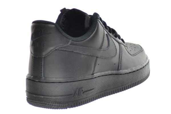 NEW BIG KID/'S NIKE AIR FORCE 1 LOW 314192-009 BLACK//BLACK CLASSIC GS