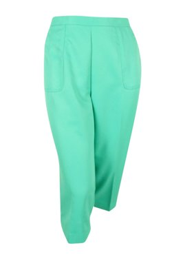 cc2dfb5ecab Product Image Alfred Dunner Women s Plus Size Acapulco Solid Capri (16W