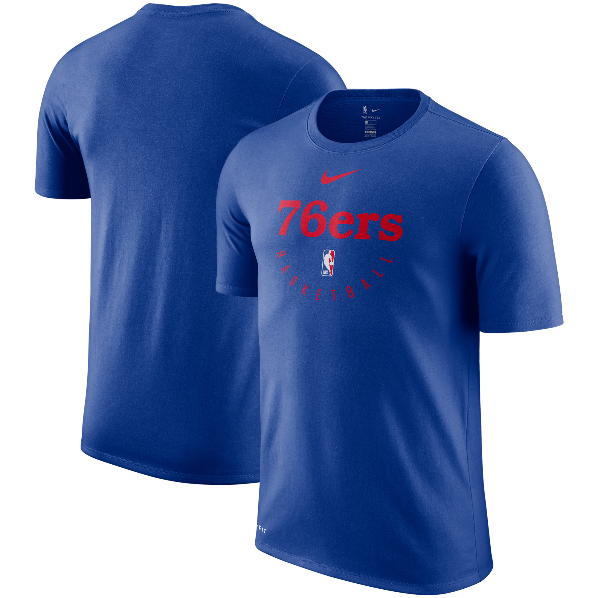 Philadelphia 76ers Nike Practice Legend Performance T-Shirt - Royal