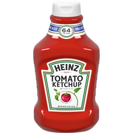 Heinz Tomato Ketchup, 64 oz (Las Ketchup)