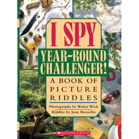 I Spy Year Round Challenger : A Book of Picture Riddles - Halloween Riddles Hard