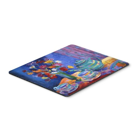 Blue Tea By Wendy Hoile Mouse Pad  Hot Pad Or Trivet Hwh0010mp