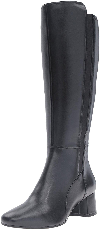 Naturalizer Womens Naples Closed Toe Knee High Fashion Boots Fashion Boots by Naturalizer