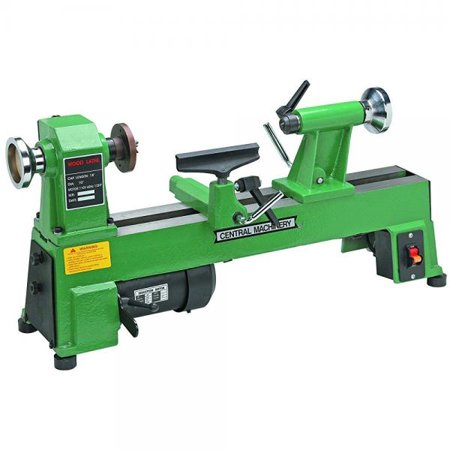 5 Speed Bench Top Wood Lathe with 3 Faceplate and 7 Tool Rest (Wood Lathe Rest)