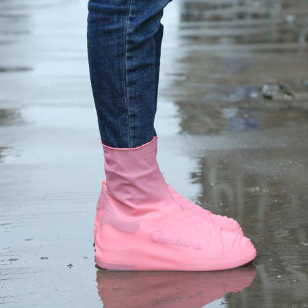 Cute Latex Waterproof Snow protection Sand prevention Shoe Cover Outdoors Travel in the (Best Shoes For Sand And Water)