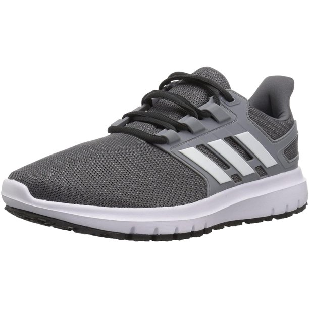 adidas Men's Energy Cloud 2 Running Shoe grey/White/Grey, 7.5 M US, 100% Synthetic By Visit the adidas Originals Store