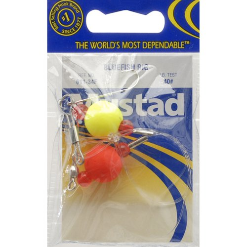 "Mustad Bluefish Rig 3/4"" Floats"