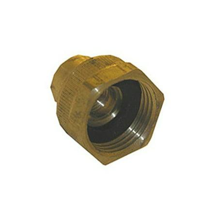 69 Hose Polished Brass - LARSEN SUPPLY CO. INC. 15-1769 Brass 1/4