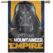 """West Virginia Mountaineers WinCraft 28"""" x 40"""" Star Wars Empire Single-Sided Vertical Banner"""