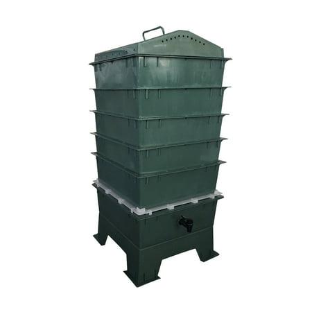 5-Tray VermiHut Worm Compost Bin