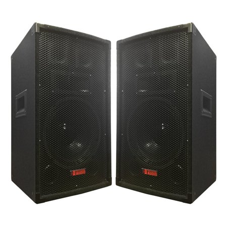 "A pair of TA-100 10"" Speakers - 600 Watts 3-way - Adkins Pro Audio - DJ Speaker - Great for parties and Weddings"
