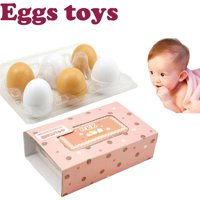 Color Matching Egg Toy Set Toddler Toys Educational Wood Number Recognition